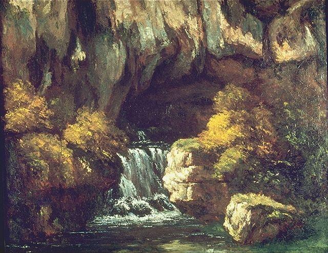 L'art dans toute sa splendeur La_grotte_de_La_Loue_1864_Courbet